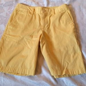 Polo By Ralph Lauren Boys Shorts Yellow